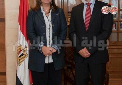 وزيرة التضامن تبحث مع سفير سويسرا تعزيز التعاون في المجال الإجتماعي
