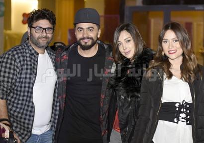 عيد ميلاد ابنة وليد منصور