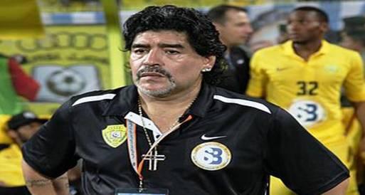 الوصل الإماراتي يقيل مارادونا ويمنحه إجازة مفتوحة