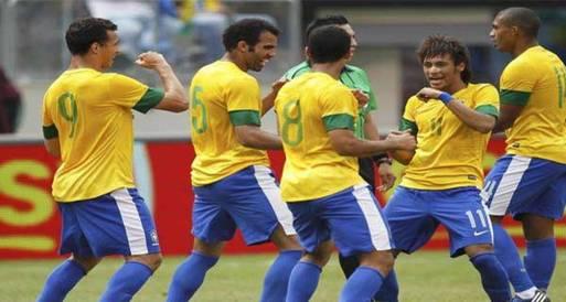 منتخب البرازيل يواجه الصين وجنوب أفريقيا