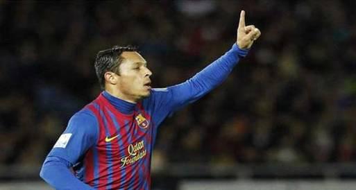 وكيل أدريانو يؤكد بقاءه في برشلونة