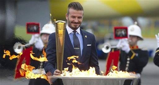 كو : بيكهام سيكون له دور في الألعاب الأوليمبية