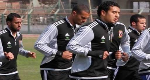 يستأنف لاعبو الأهلي المستبعدون من القائمة الإفريقية مرانهم
