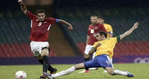 """صحيفة مغربية: أداء """"مبهر"""" للفراعنة أمام البرازيل"""