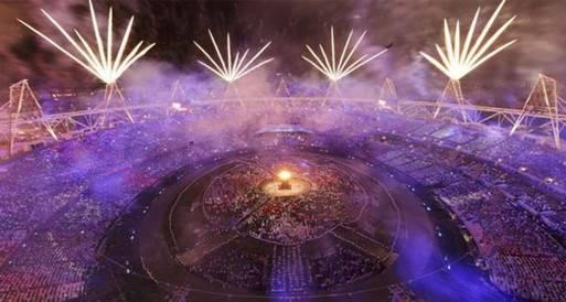 حفل افتتاح لندن 2012الأكثر مشاهدة فى بريطانيا