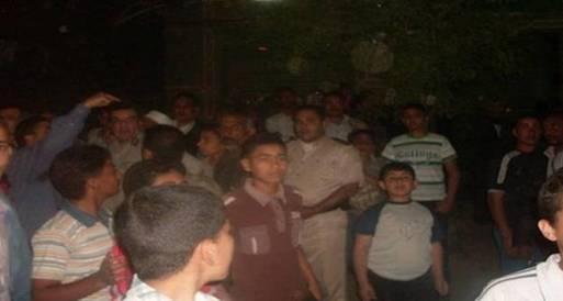 """قطع طريق """"القاهرة الإسكندرية الزراعي"""" بدمنهور لاختفاء فتاة"""