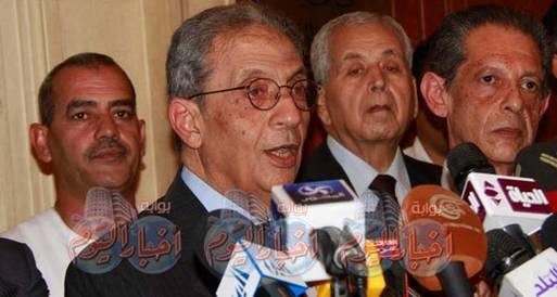 موسى: انسحابي نهائي وسنطالب بعودة دستور 71..أو الدستور المؤقت