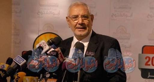 أبو الفتوح: سيناء تضيع لأنها ليست تحت سيادة مصرية كاملة
