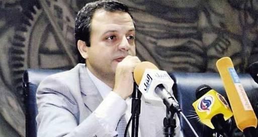 شرابى: الزند متوتر بسبب إقالة النائب العام لأسباب خاصة بثروته