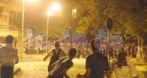 الجندي : اشتباكات عنيفة في المنيا والإسكندرية والمحلة الكبرى
