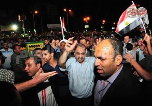 صورة أرشيفية من اعتصام رابعة