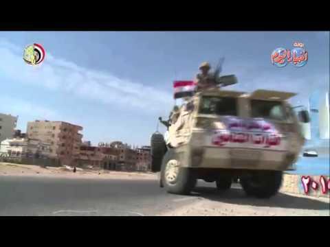 القوات المسلحة تنهى استعدادتها للمشاركة فى تأمين الانتخابات النيابية 2015