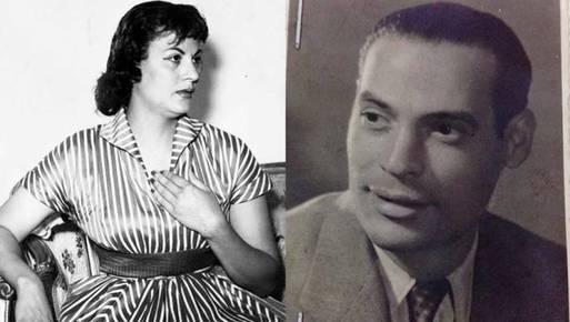 سعاد حسين وزوجها سعيد خليل