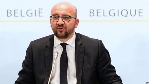 رئيس الوزراء البلجيكي تشارلز ميشيل