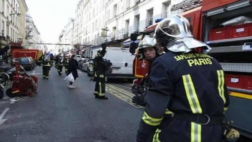 صورةمن انفجار باريس