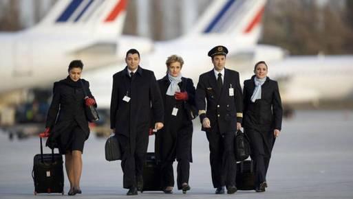 مضيفات الخطوط الجوية الفرنسية