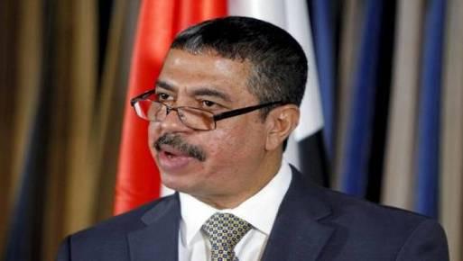 رئيس الوزراء اليمني خالد بحاح