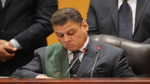 قاضي التخابر محمد شرين فهمي