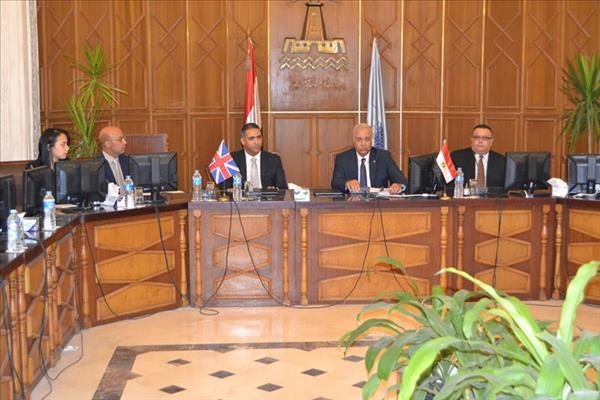 اتفاقية دولية في مجال الرعاية الصجية والاجتماعية بين الإسكندرية وبريطانيا