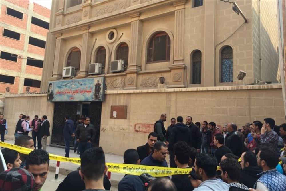 حادث كنيسة مارمينا الارهابي