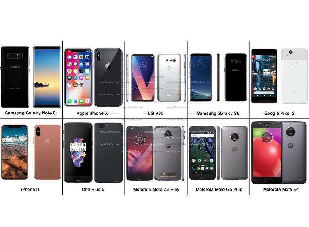 هواتف ذكية - صورة مجمعة