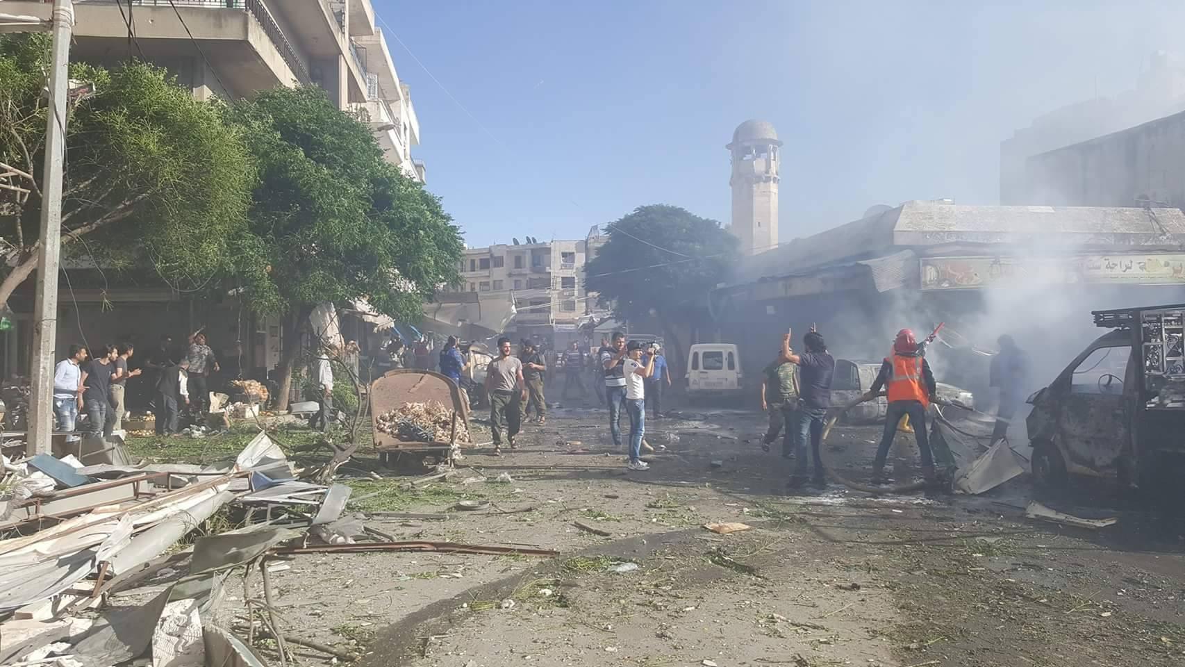 انفجار إدلب