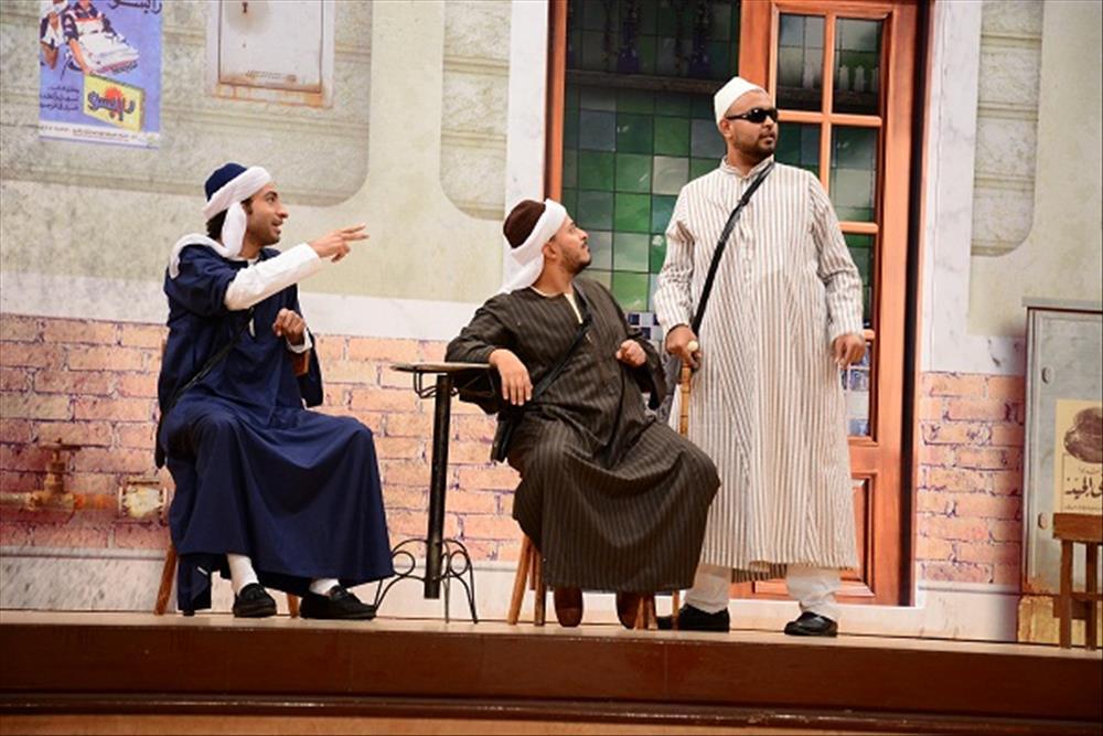 مسرحية «شوكت وشطانوفي»