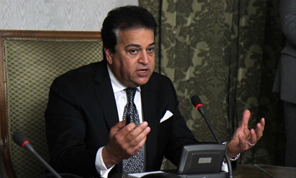 د. خالد عبد الغفار وزير التعليم العالي