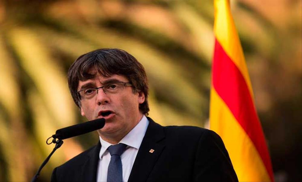 زعيم إقليم كتالونيا المعزول كارلس بوجديمون