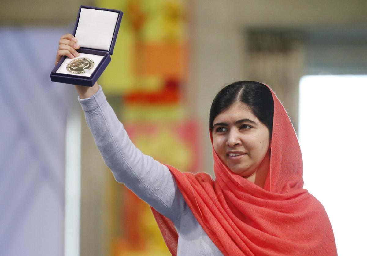 الباكستانية ملالا يوسفزي