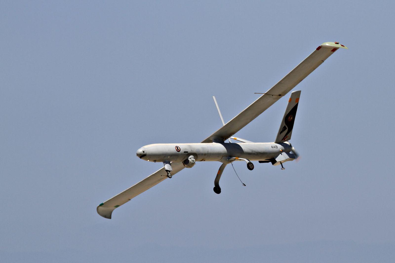 قصف لطائرة دون طيار