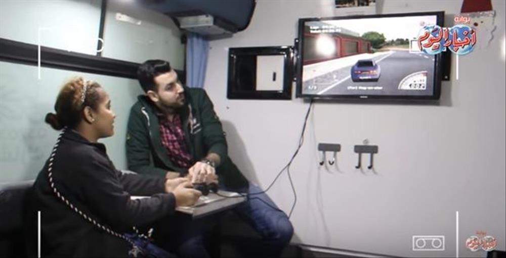 العربة المتنقلة لإنقاذ أطفال بلا مأوى
