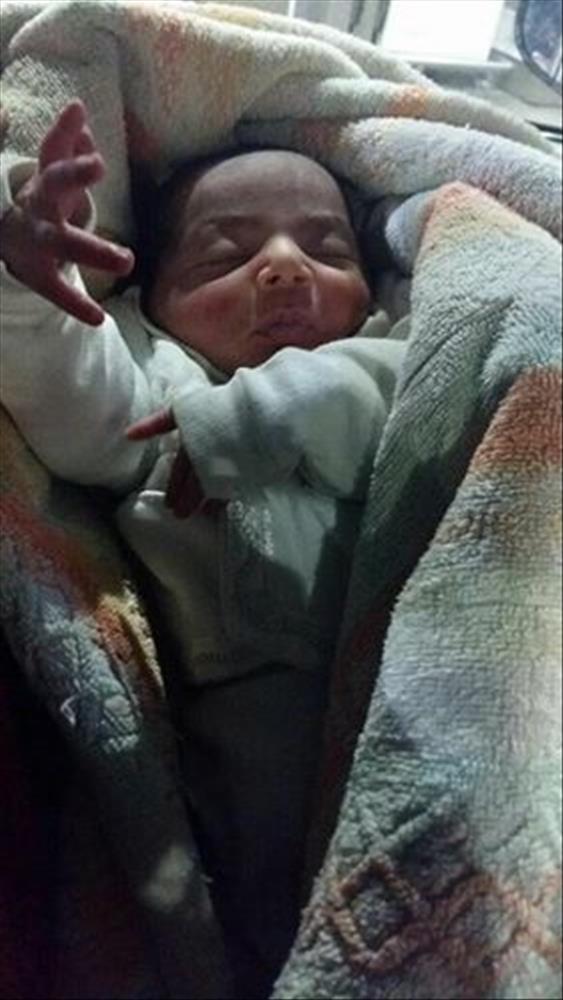"""""""التضامن"""" تتسلم رضيعا عمره ٣ أيام  من مركز شرطة أوسيم"""