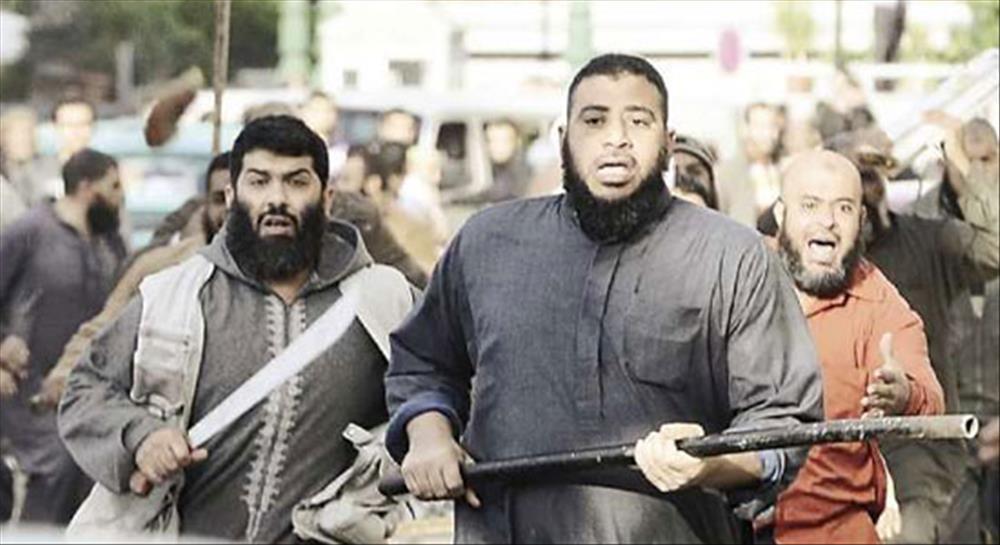 اعضاء الجماعة الارهابية بالشرقية