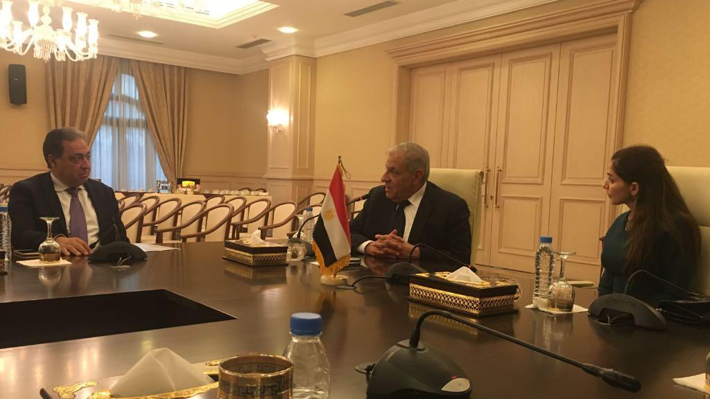 اجتماع الجانب المصري مع الأشقاء العراقيين