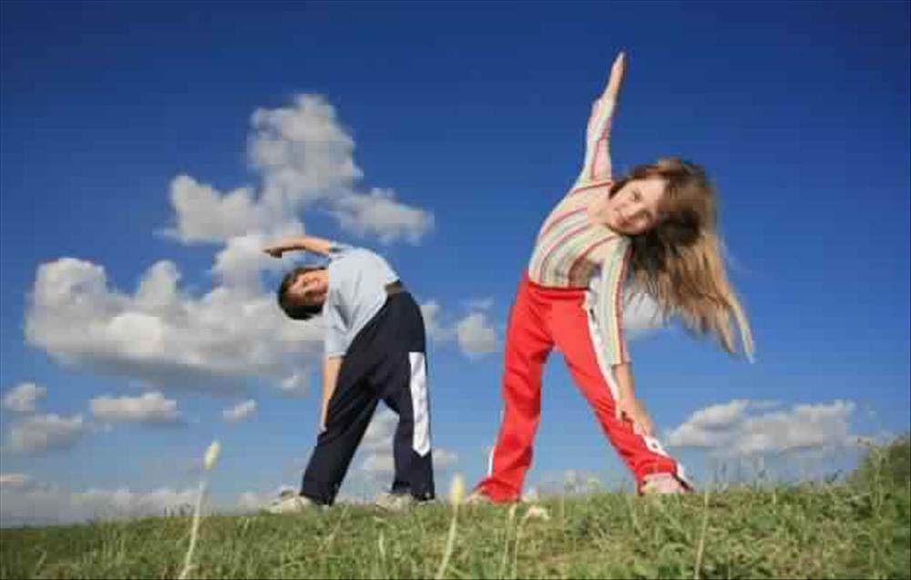 نظام غذائي للاطفال أيام ممارسة الرياضة