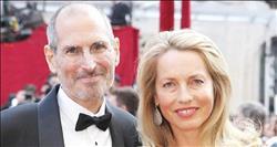 لورين باول وزوجها الراحل ستيف بول جوبز