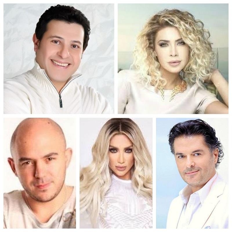 10 نجوم يتنافسون على أغاني «عيد الحب» في فبراير