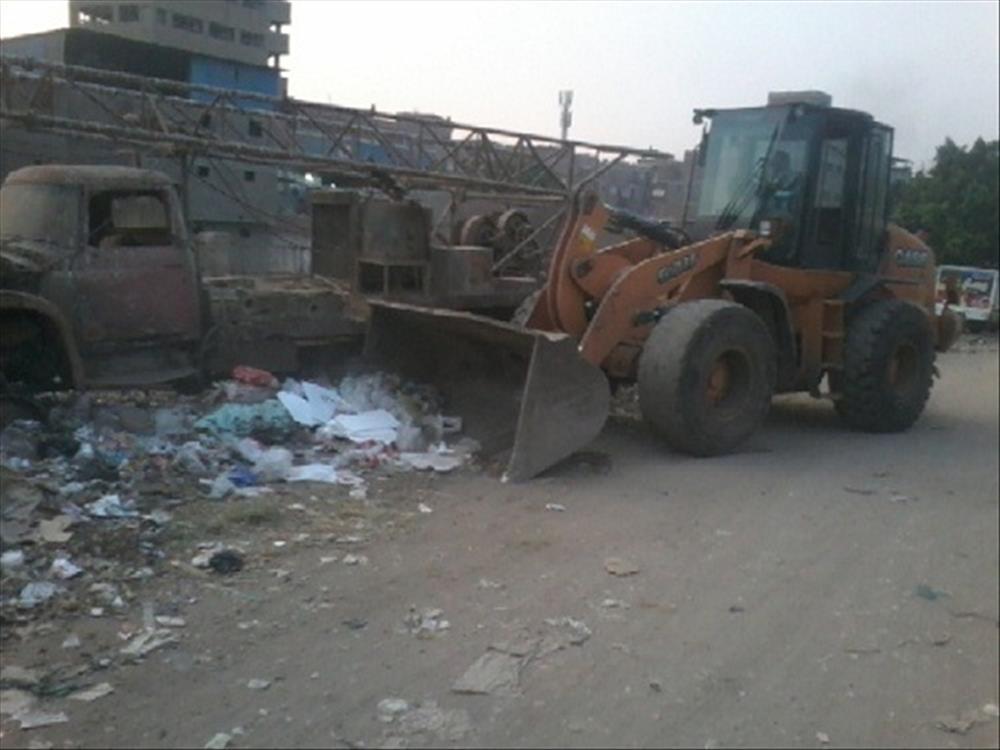 رفع 24 طن قمامة ومخلفات من شوارع المدينة
