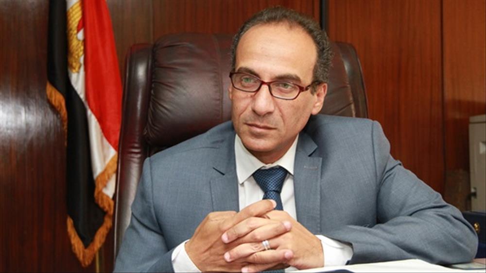 الدكتور هيثم الحاج علي رئيس الهيئة المصرية العامة للكتاب