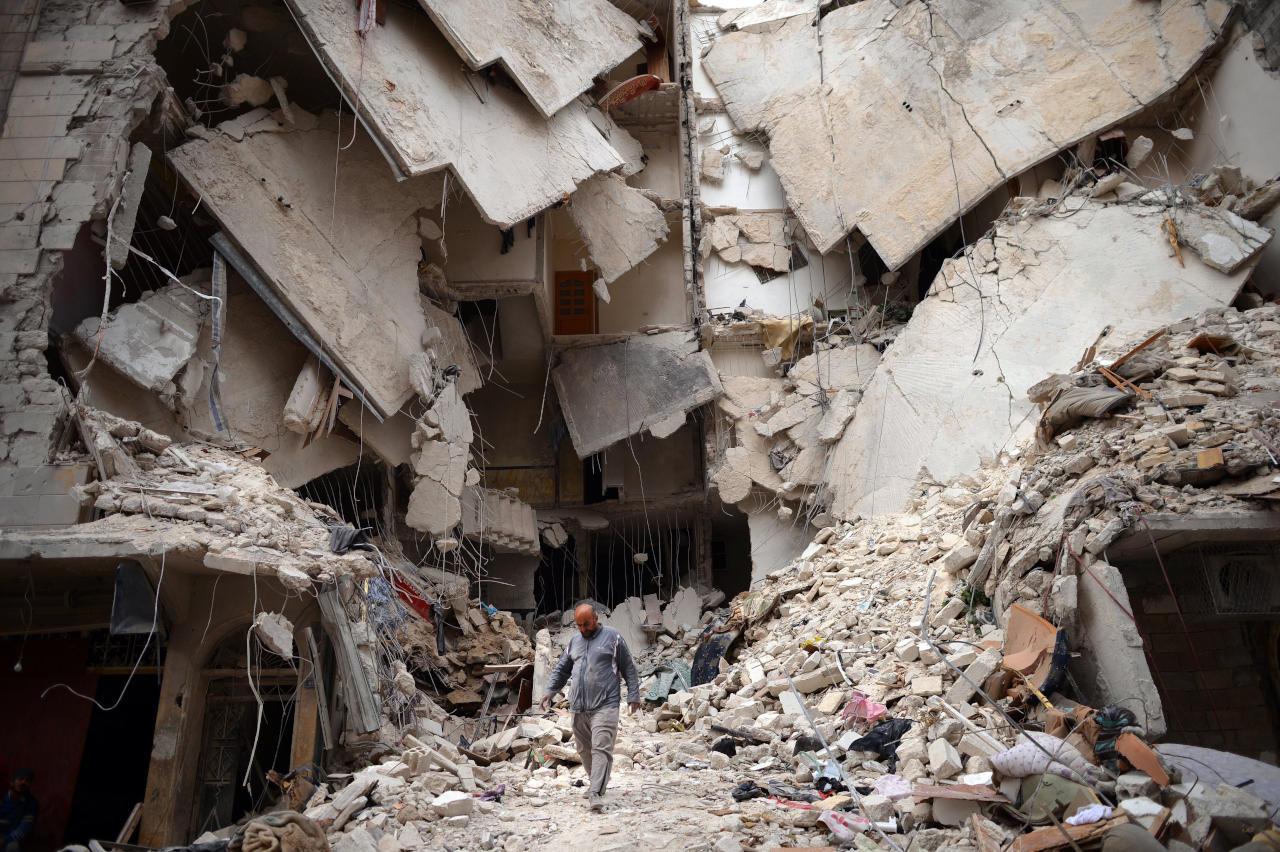 الوضع بسوريا
