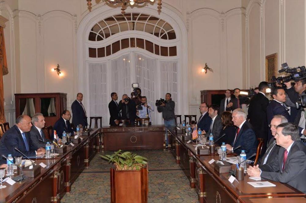 مايك بينس نائب الرئيس الأمريكي يزور القاهرة