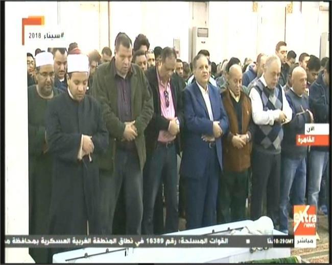 تشييع جنازة الفنان محمد متولى