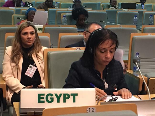 مايا مرسي تشارك في الدورة ٦٢ للجنة وضع المراة بالأمم المتحدة
