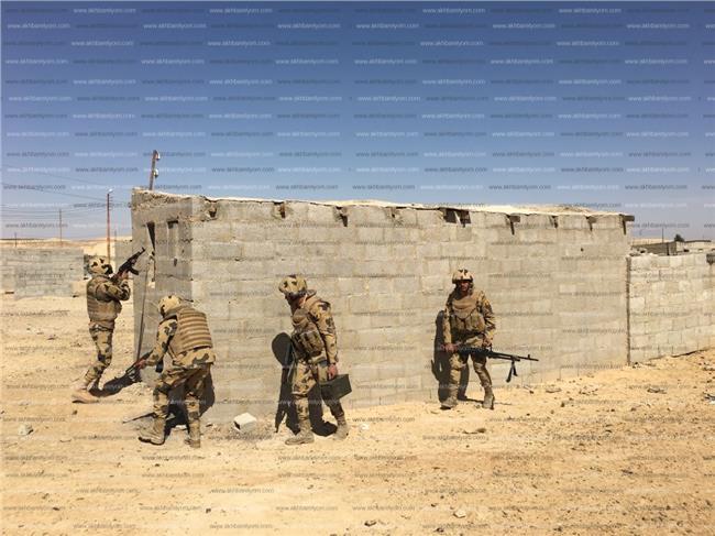 أبطال القوات المسلحة في سيناء