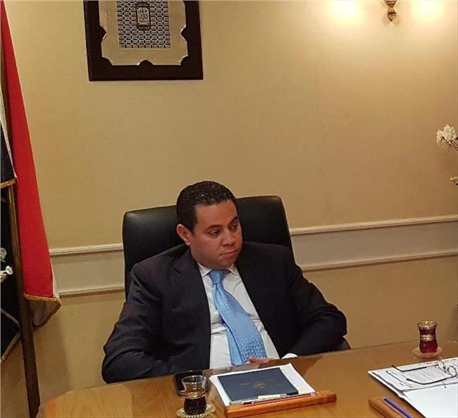 خالد بدوي رئيس قطاع الاعمال العام