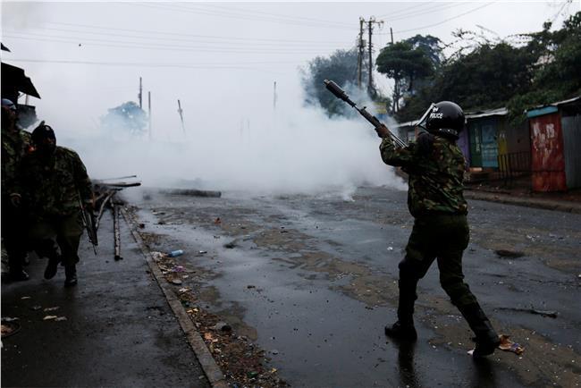 اشتباكات بكينيا