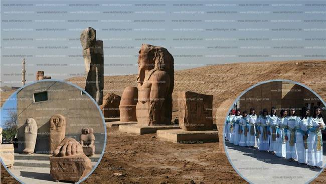الكنوز الأثرية بمنطقتي صان الحجر وتل بسطة بمحافظة الشرقية