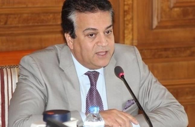 أ.د خالد عبد الغفار وزير التعليم العالي والبحث العلمي
