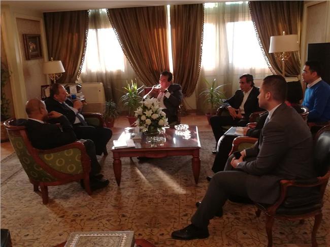 وزير التعليم العالي يستقبل مدير مكتب اليونسكو الإقليمي بالقاهرة